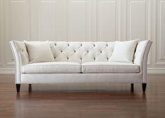 Shelton Sofa, Springer/White Ethan Allen