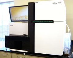 Illumina HiSeq - Automated Genome Sequencing Machine