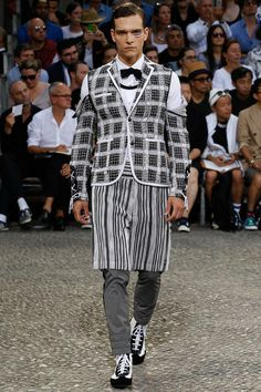 Moncler Gamme Bleu | Spring 2015 Menswear Collection | Style.com