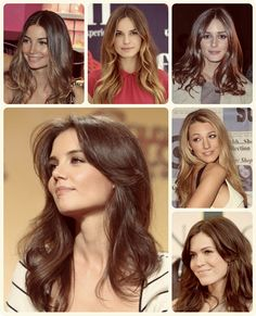 8 Best and Glamorous Hairstyles for Round Face celebrity mixed length layers hair style with cheap human hair extension