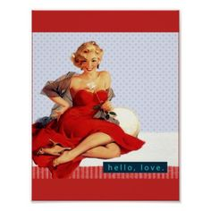 Retro Fifties Poster - decor gifts diy home & living cyo giftidea