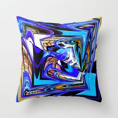 Quadrangle Throw Pillow by David  Gough - $20.00