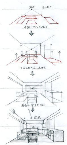 Best Picture For Architecture perspective house For Your Ta. Drawing Interior, Interior Design Sketches, Sketch Design, Drawing Lessons, Drawing Techniques, Drawing Tips, Drawing Reference, Art Lessons, Drawing Ideas