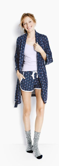 Hanna Andersson Women's collection of pima cotton lounge and sleepwear @hanna