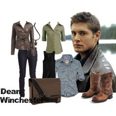 Dean Winchester of Supernatural.