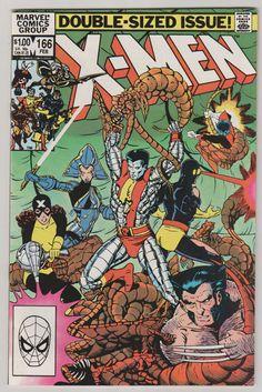 Uncanny X-Men V1 166.  NM.  February 1983.  by RubbersuitStudios #xmen #comicbooks