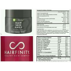 A lot of people swear by Hairfinity. The main ingredient is biotin which promotes hair growth. #Hair, #skin, and #nails has twice that. It also supports the body's keratin and collagen production. #beauty #beautiful $33.00   www.confidentandbeautiful.com