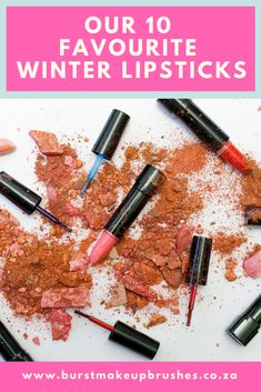 Winter is all about deep, rich colours that scream comfort and warmth. When the cooler weather rolls around, it is time to switch out your bright summer colours for the richer colours of winter. An easy way to add that burst of colour is to add a trendy winter lipstick. #BurstMakeupBrushes #BrustMakeup #MakeupBrushes #lipsticks #makeup #beauty