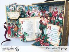 NEU Graphic 45 A Christmas Carol Ephemera Cards - Hobby-Crafts24.eu