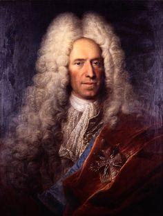 Ádám Mányoki, portret Jana Szembeka, kanclerza wielkiego koronnego