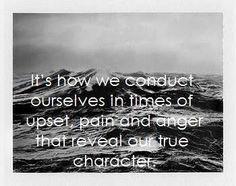 Be self aware