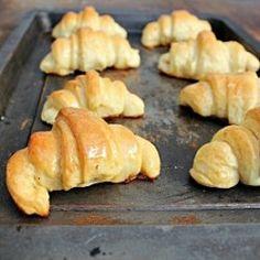 brown butter crescent rolls