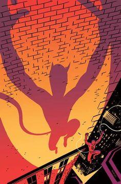 Daredevil by R. Kikuo Johnson *