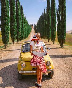 Fiat500nelmondo (@fiat500nelmondo) • Foto e video di Instagram Drive A, Fiat 500, Holiday Decor, Car, Instagram, Vintage, Video, Honey, Amsterdam