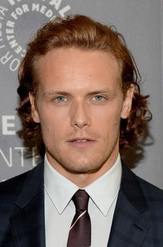 Sam Heughan eventually landed the role after a Skype interview.