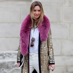 Street Style at Paris Fashion Week Fall 2013
