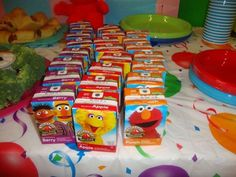 Red Balloon Events P's Birthday / Elmo & Sesame Street - Photo Gallery at Catch My Party Baby Girl Birthday, 1st Boy Birthday, 3rd Birthday Parties, Birthday Ideas, Birthday Cakes, Elmo Party, Mickey Party, Dinosaur Party, Dinosaur Birthday