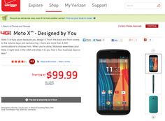 Moto X MotoMaker Page Goes Live On Verizon (Partially)