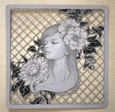 audrey kawasaki. Totally trying this lattice cut.