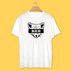Japanese Anarchy Fox #Tee by @AnimalVision