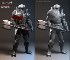 Here's what Assassin's Creed III's Connor looks like in the near-finished product. He's got flowing elements to his outfit, and a nice touch of blue. It is, considering the constraints of the military dress of the time, a pretty sharp outfit. Character Model Sheet, Character Modeling, Character Creation, 3d Character, Character Design, 3d Modeling, Assasins Cred, Assassin's Creed Wallpaper, Assassin's Creed Brotherhood