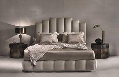 Modern bedroom design, bed design, latest bed, upholstered beds, new houses Bed Headboard Design, Bedroom Bed Design, Gold Bedroom, Headboards For Beds, Bedroom Art, Modern Bedroom, Luxury Bedroom Furniture, Bed Furniture, Luxury Bedding