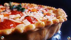 Una quiche vegetal con una combinación de hortalizas y quesos que seguro que te encantan. Una idea de ¡HUELE BIEN!