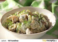 Salát z pečených brambor s bylinkami recept - TopRecepty.cz