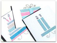 Onnittelukortti paperisuikaleista   Juhlamielellä Notebook, The Notebook, Exercise Book, Notebooks