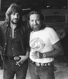 Crawford Denim and Vintage Co. - throwback-tommy-mac:   Waylon & Willie