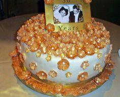 50th Anniversary Cake - Cake Decorating Community - Cakes We Bake