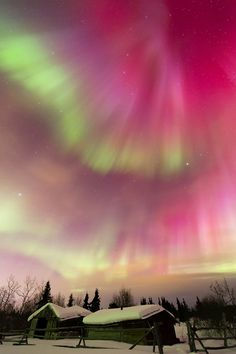 Northern Lights in Carcross - Yukon, Canada
