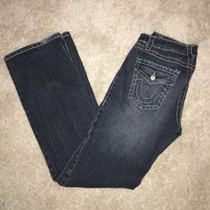 Arizona Jeans  I bought this in Germany, in good condition. Only wear is on the bottom, see last pic. Smoke and pet free home. Arizona Jean Company Jeans Flare & Wide Leg