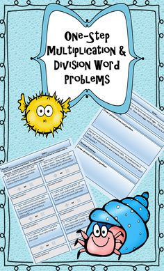 175 One-Step Multiplication & Division Word Problems for 3rd & 4th Graders