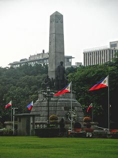 Rizal Monument, Luneta Park by truflip99, via Flickr Jose Rizal, Visayas, Pinoy, Capital City, Manila, Wonderful Places, Empire State Building, Places Ive Been, To Go