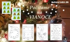 Kategória Vianoce - Page 2 of 6 - Nasedeticky. Toddler Activities, Advent Calendar, Preschool, Christmas Ornaments, Holiday Decor, Home Decor, Toddlers, Play, Christmas