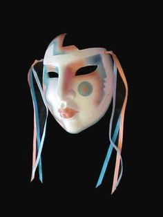 ABOUT-FACE-CLAY-ART-CERAMIC-MARDI-GRAS-DECO-MASK-MADE-IN-SAN-FRANCISCO-USA