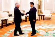 With warm words from Chinese President Xi Jinping on Sunday, U.S. Secretary of State Rex Tillerson ended his first trip to Asia since taking office with an agreement to work together with China on North Korea and putting aside trickier issues.