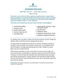 Wheat-Belly-Recipe-Chicken Piccata