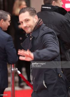 Tom Hardy arrives at The Princes Trust Awards - March 6th 2018