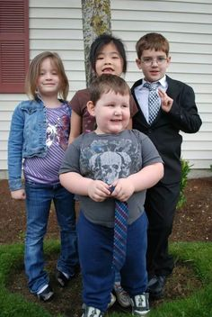 Paige,Ashli, Ben, and jackson