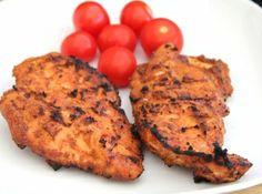 Grillezett csirkemell szárazpácban recept