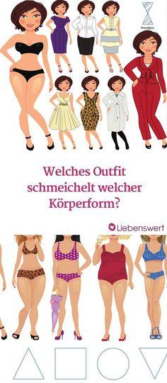 Welche Outfits passen zu welcher Körperform