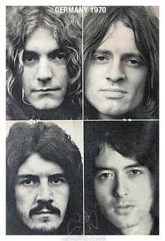 Robert Plant, John Paul Jones, John Bonham, Jimmy Page -- Led Zeppelin