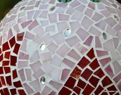Gartendeko aus Mosaik