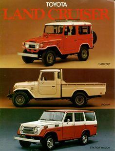 Vintage Toyota Land Cruiser