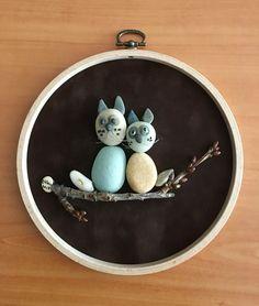 Pebble art by gülen
