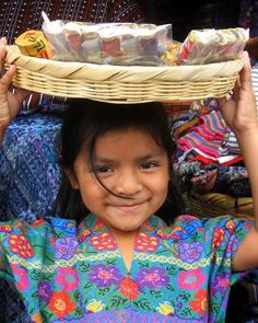 little street vendor, Antigua, Guatemala | TrekEarth