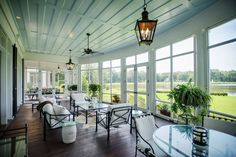 Screened-Porch - Historical Concepts - The Ford Plantation Room