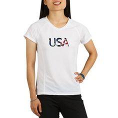 Usa Performance Dry T-Shirt